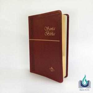 Elyon Books - Biblia Mediana Imitación Piel Concordancia Fina Vino